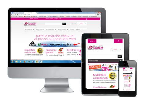 Siti internet responsive mobile