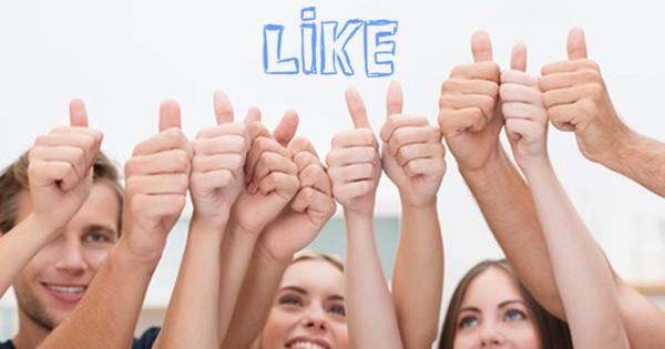 Mi piace su Facebook