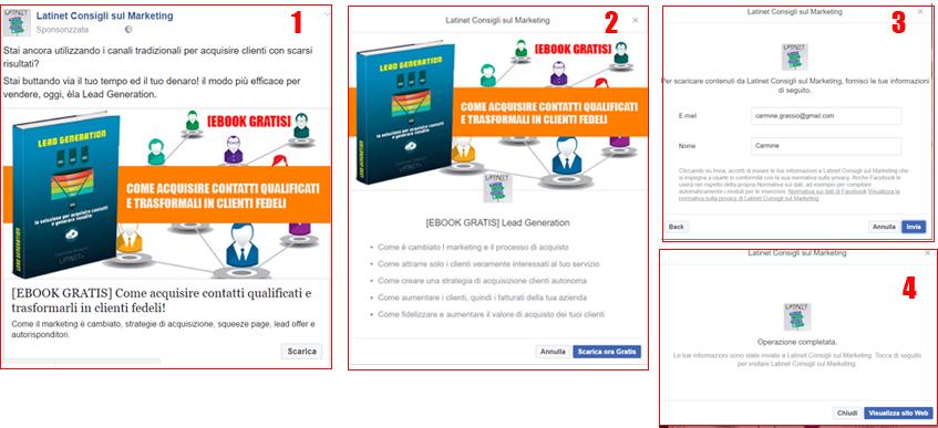lead ads facebook