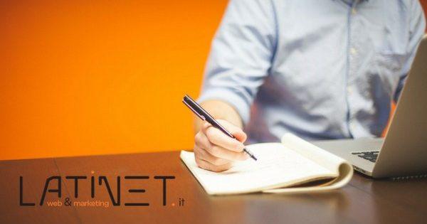 scrivere un articolo sul web